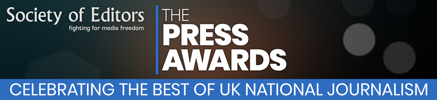 Press Awards 2018 Banner